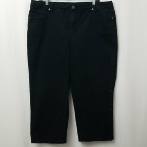 Style and Company Womens Capris  Sz 16